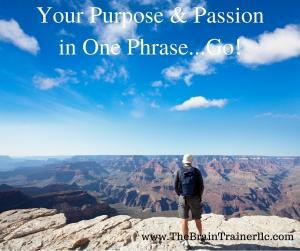 Find Your Purpose and Passion
